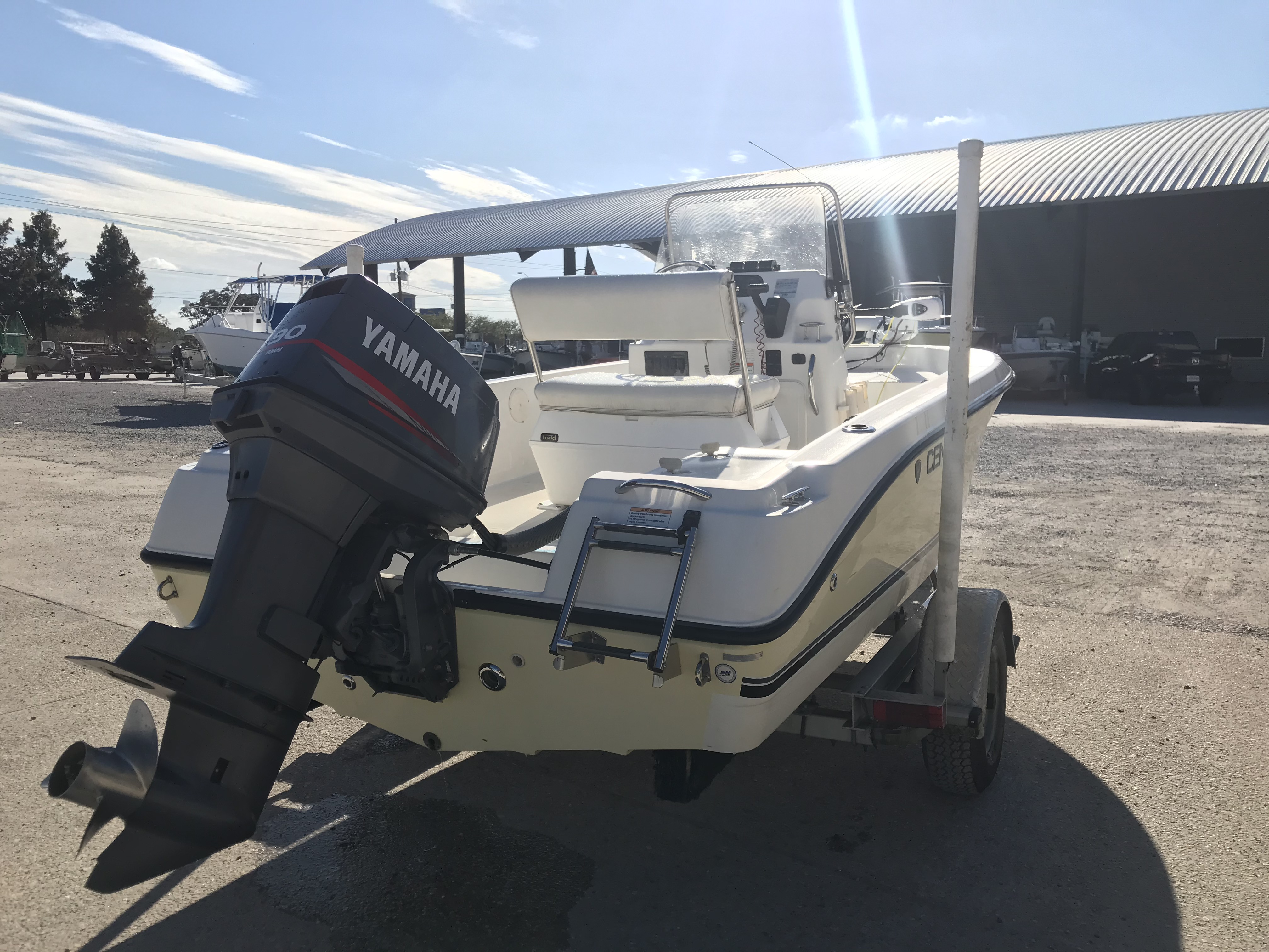2007 Century boat for sale, model of the boat is 1701 SV & Image # 3 of 8