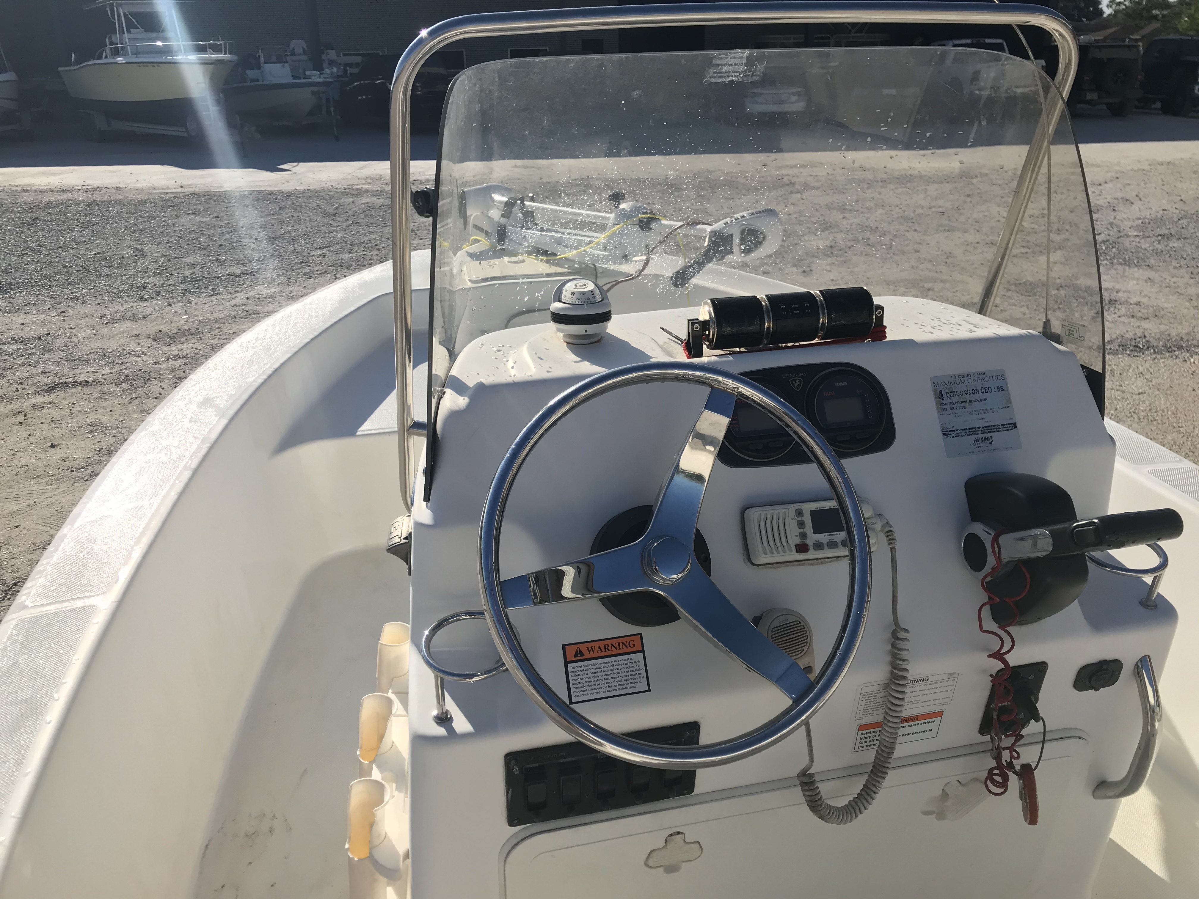 2007 Century boat for sale, model of the boat is 1701 SV & Image # 8 of 8
