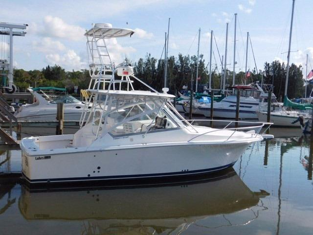 2007 Luhrs Open Diesel with Tower