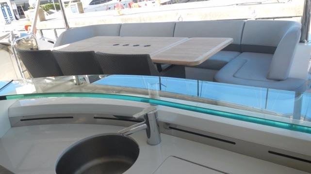 actual yacht aft cockpit