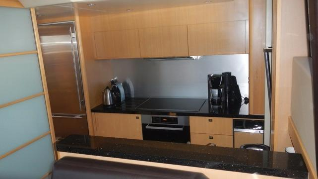 actual yacht galley
