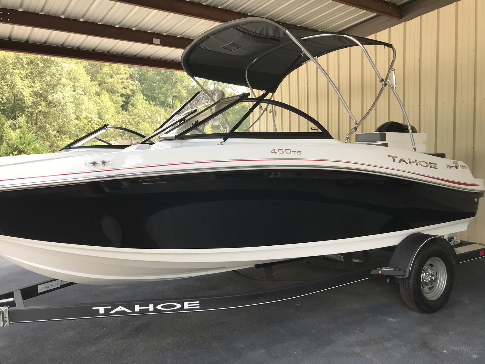 2019 Tahoe boat for sale, model of the boat is 450 TS & Image # 1 of 24