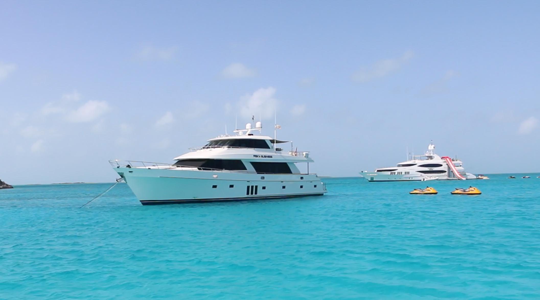 Bahamas at Anchor