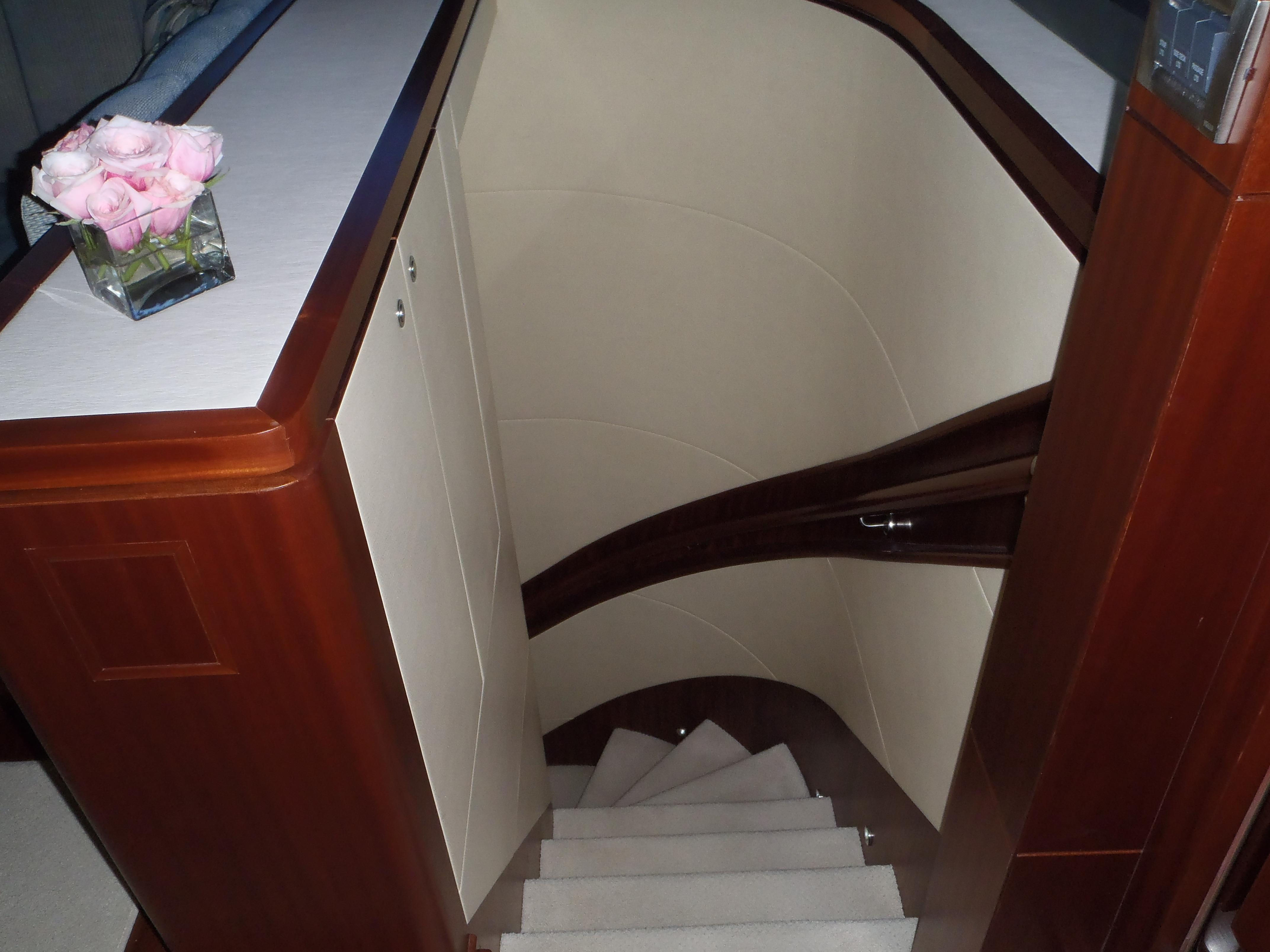 Passage Stairway to Staterooms