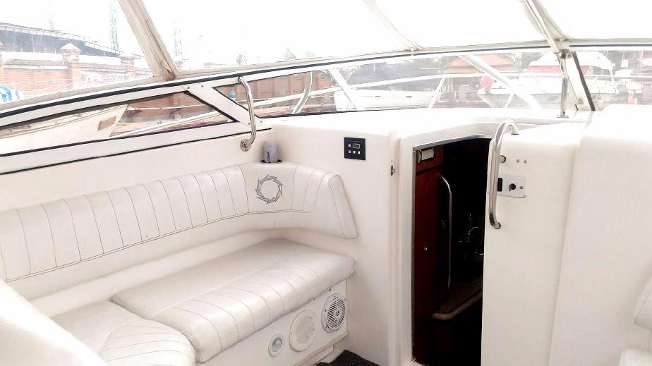 Fountain Sportfish 38 LX Cabin Hatch