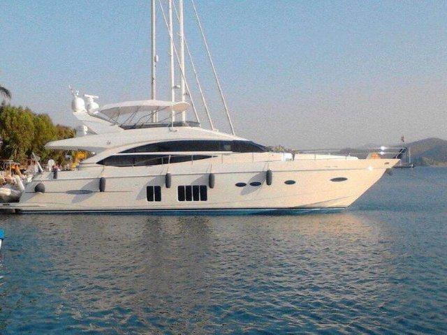 Used princess 72 motor yacht motor yacht for sale Princess 68 motor yacht