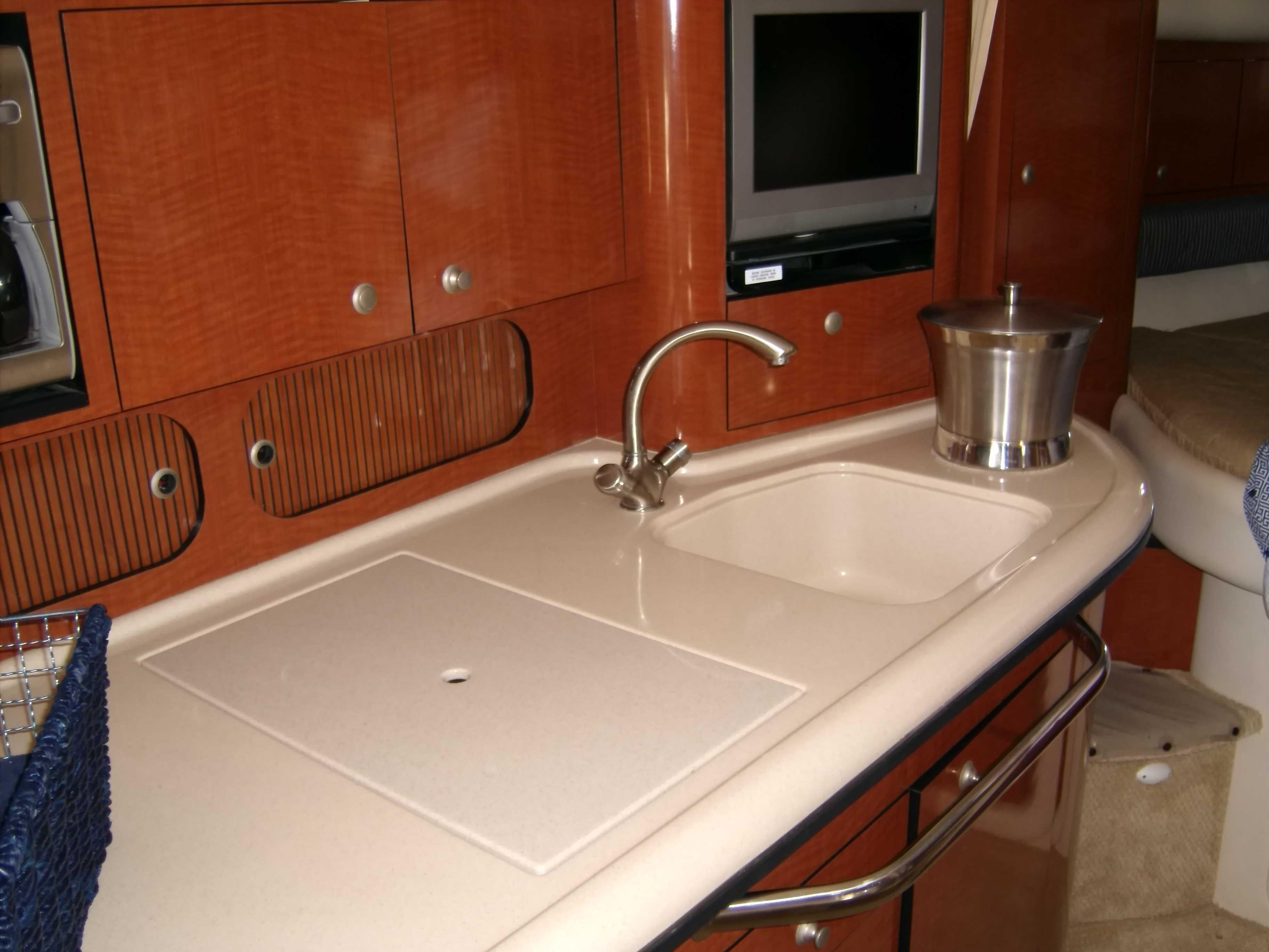 Galley With Micro Wave Oven