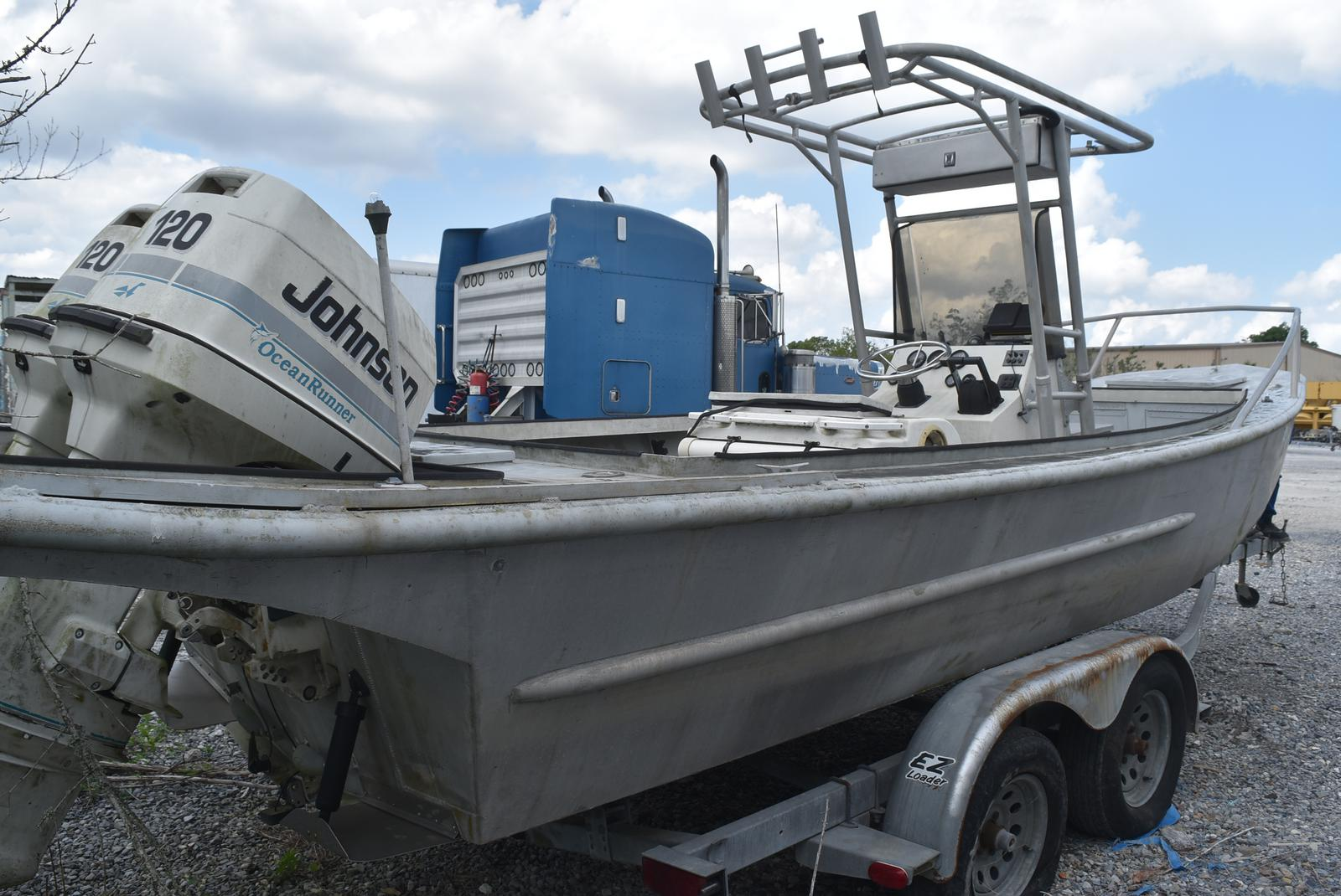 1979 Custom Aluminum boat for sale, model of the boat is 24 & Image # 2 of 8