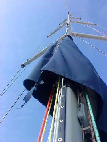 Mast And Spreaders