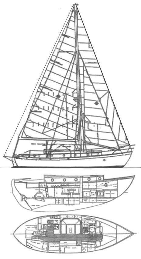 37 Rafiki 37 Cutter Yacht For Sale Rubicon Yachts