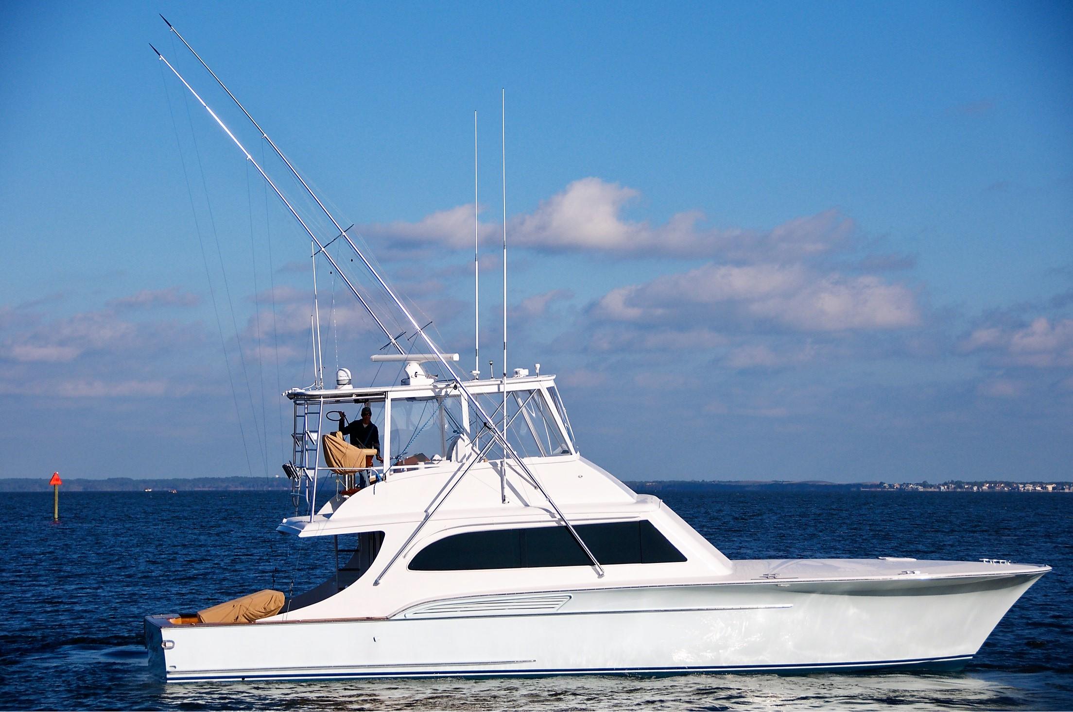 960cea4f7cf4f Deep Blue Buddy Davis 2000 Custom Carolina 52 Yacht for Sale in US
