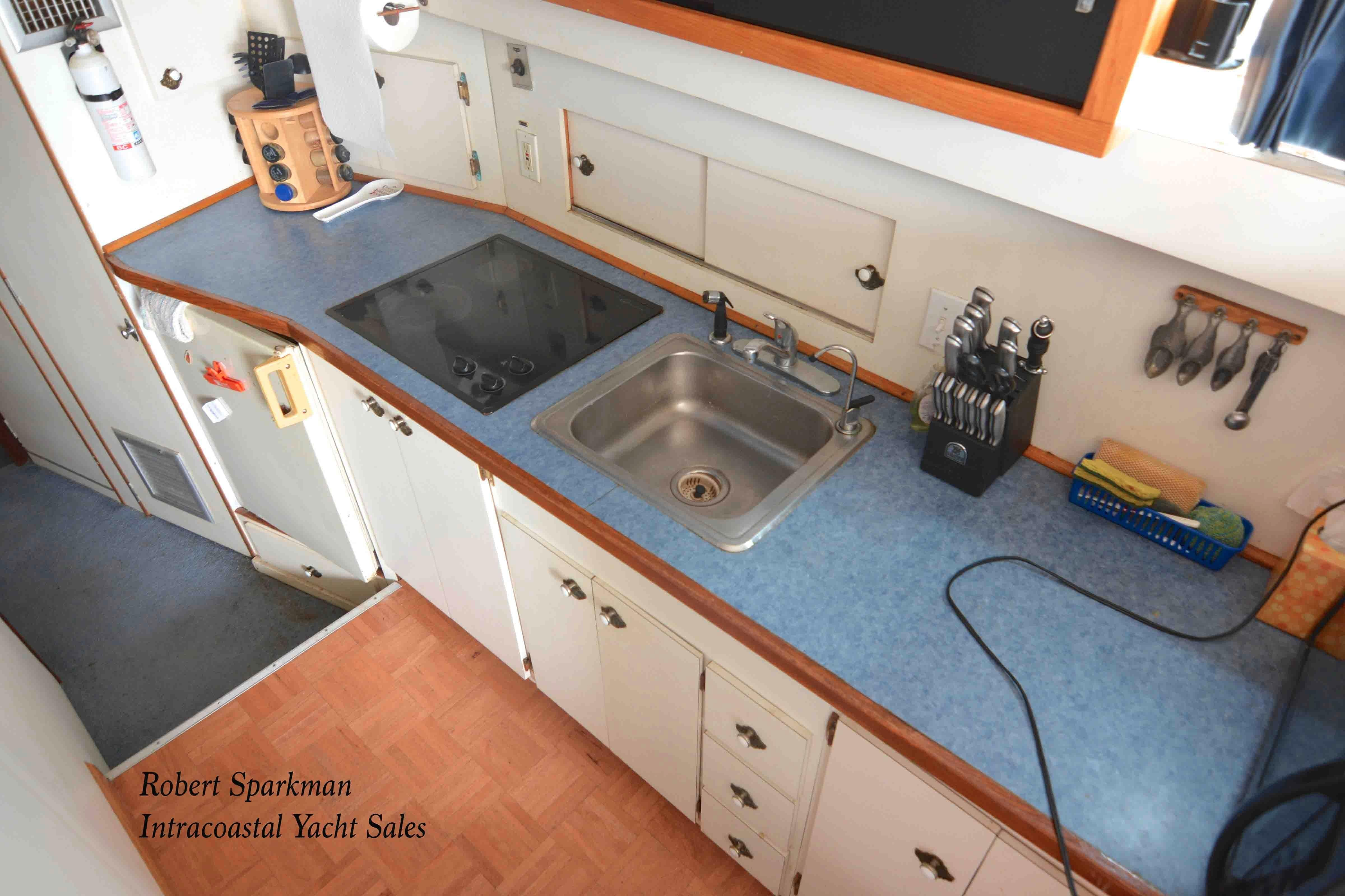 Bertram 46 Convertible - Galley