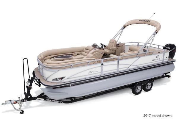2018 Regency boat for sale, model of the boat is 254 DL3 & Image # 2 of 8