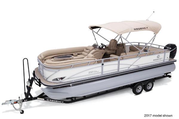 2018 Regency boat for sale, model of the boat is 254 DL3 & Image # 3 of 8