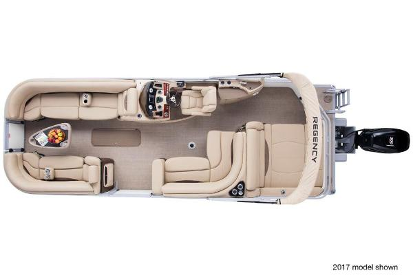 2018 Regency boat for sale, model of the boat is 254 DL3 & Image # 5 of 8