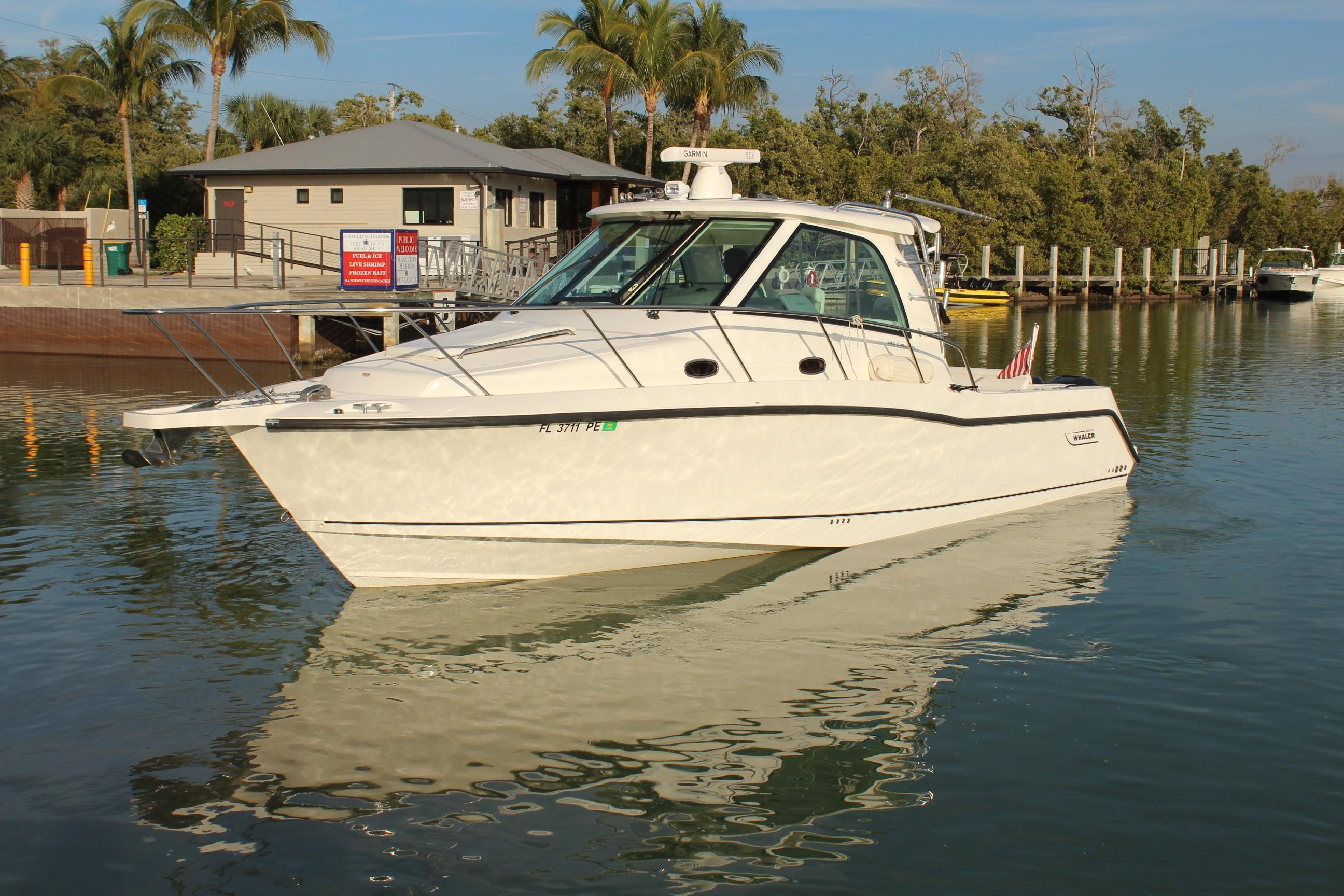 Explore the Used Boston Whaler 345 Conquest Boat and What's for Sale