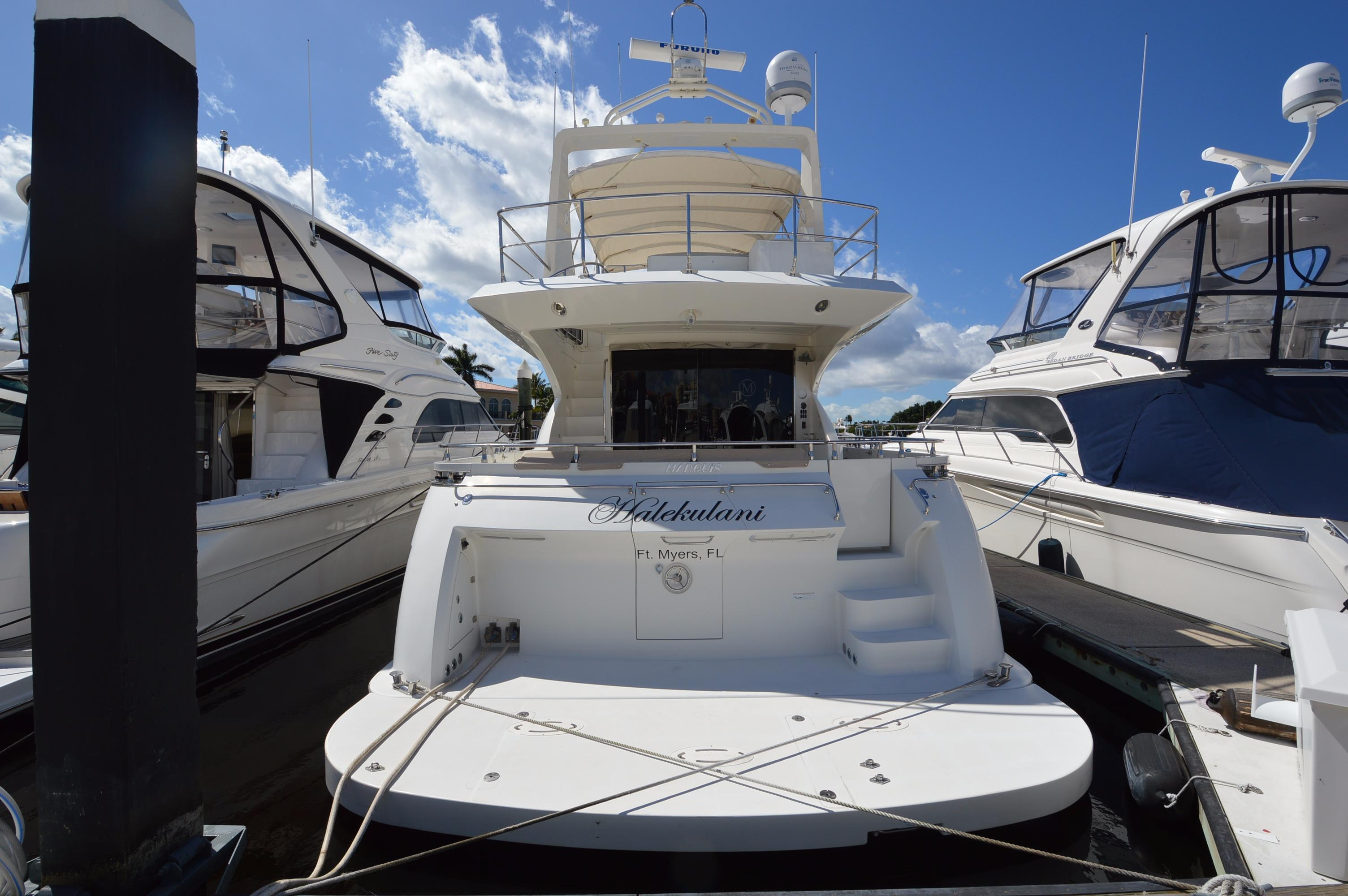 2007 Marquis 59 Motor Yacht For Sale