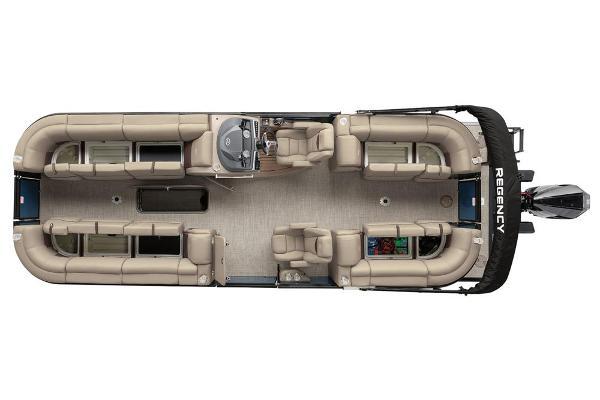 2021 Regency boat for sale, model of the boat is 250 LE3 & Image # 15 of 76