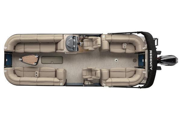 2021 Regency boat for sale, model of the boat is 250 LE3 & Image # 16 of 76