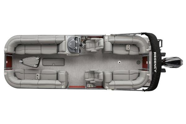 2021 Regency boat for sale, model of the boat is 250 LE3 & Image # 19 of 76
