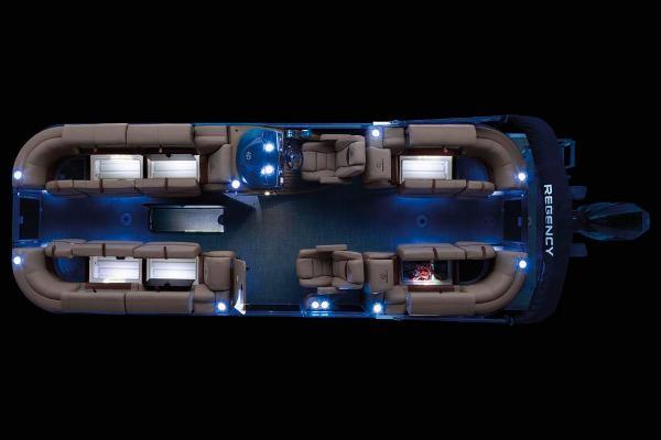 2021 Regency boat for sale, model of the boat is 250 LE3 & Image # 21 of 76