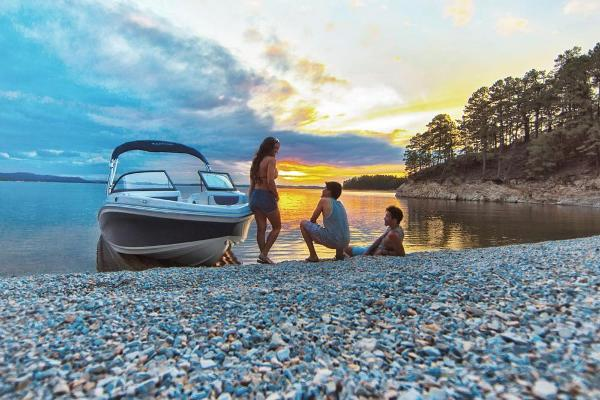 2018 Tahoe boat for sale, model of the boat is 450 TS & Image # 3 of 43