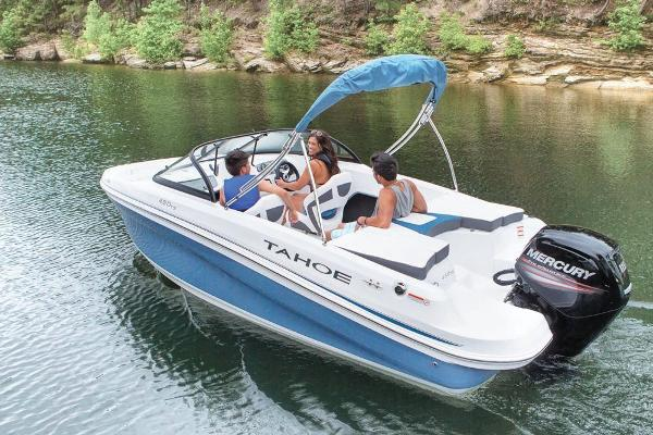 2018 Tahoe boat for sale, model of the boat is 450 TS & Image # 6 of 43