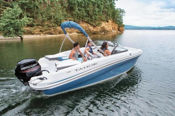 2018 Tahoe boat for sale, model of the boat is 450 TS & Image # 8 of 43