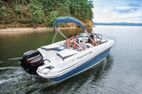 2018 Tahoe boat for sale, model of the boat is 450 TS & Image # 9 of 43