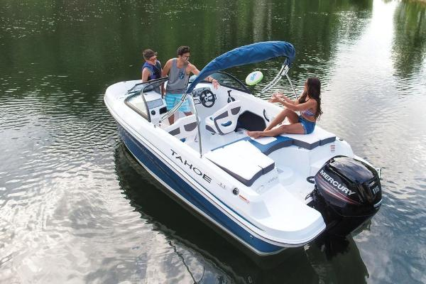 2018 Tahoe boat for sale, model of the boat is 450 TS & Image # 11 of 43