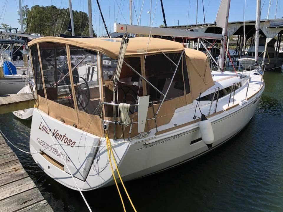 2018 Jeanneau 419 | Sailboats for Sale