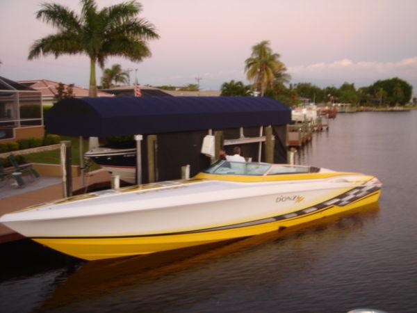 Donzi 45 ZX TRIP 500 EFI MERCS High Performance Boats