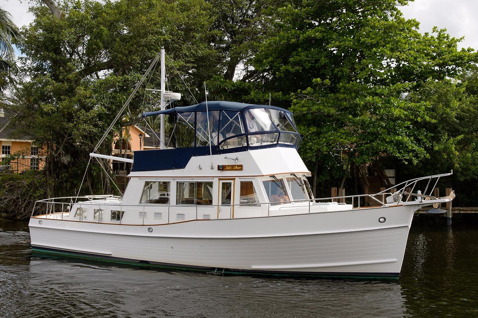 42 grand banks 2002 julie anne i for sale in fort for Grand banks motor yachts for sale