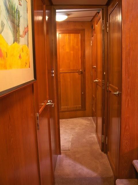 Lower forward hallway