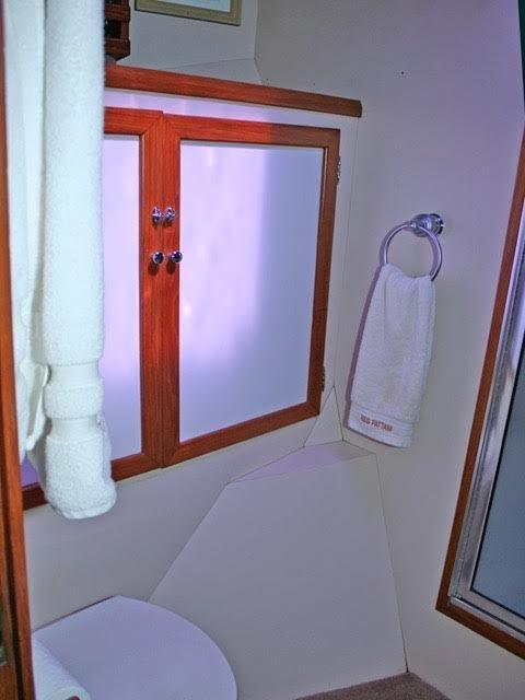 Forward stateroom toilet
