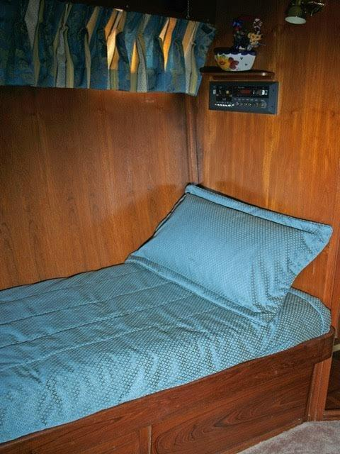 Berth in 3 berth stateroom