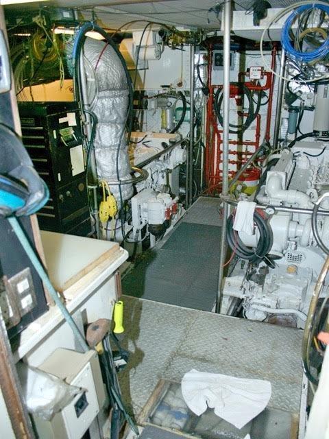 Engine room from door