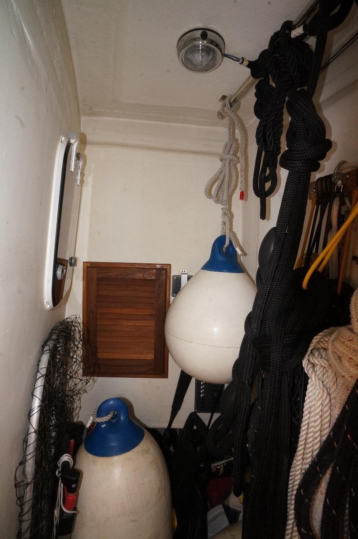 Lazarette storage