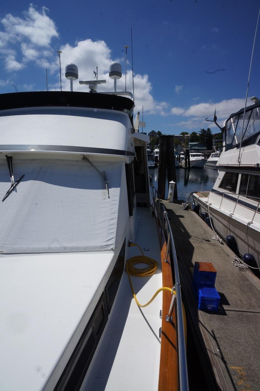 Stbd side deck
