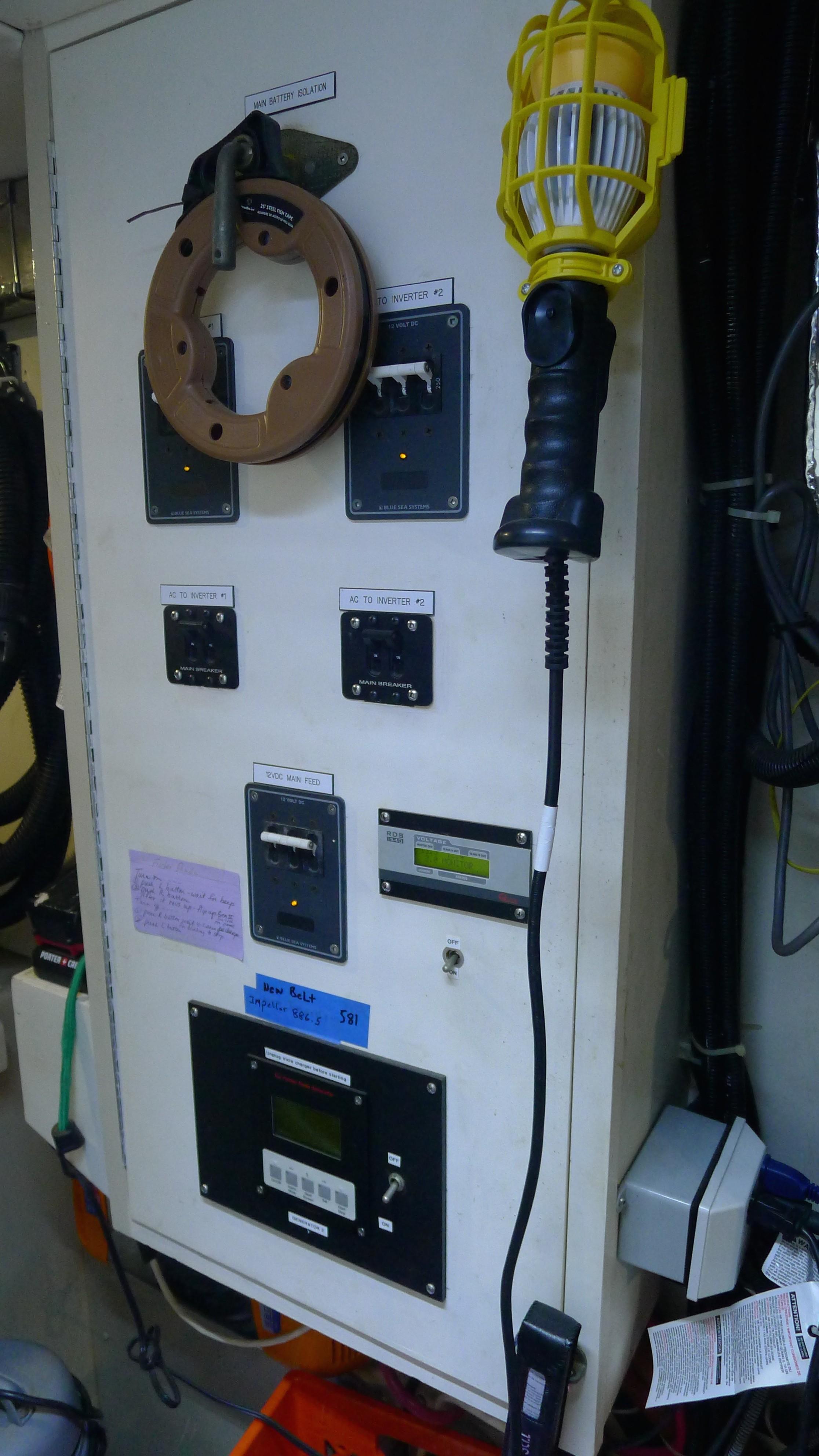 Main Battery Panel