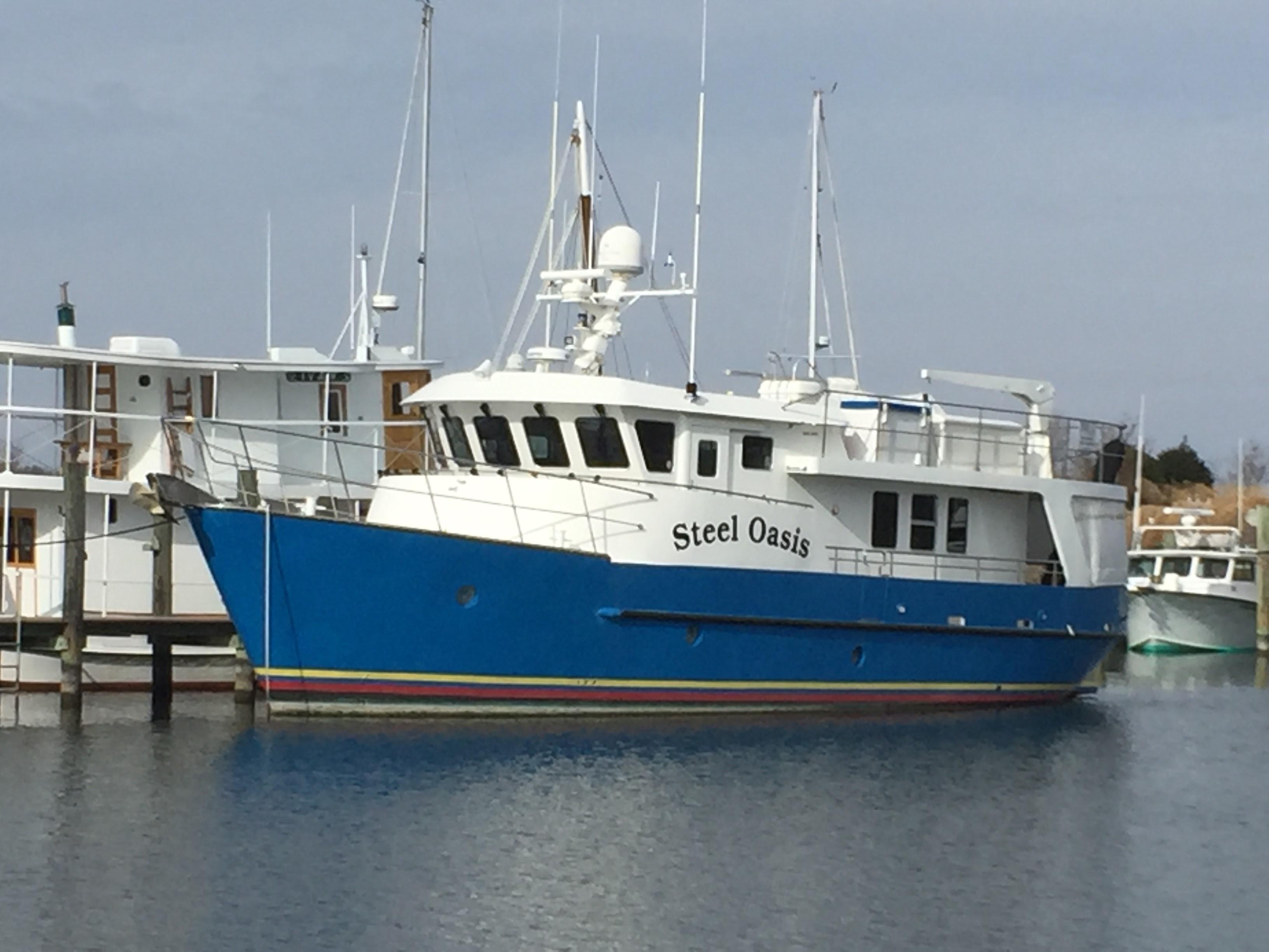 63' Cape Horn CH63 Trawler STEEL OASIS
