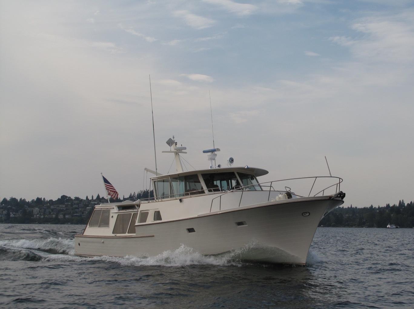 54 william garden trawler 1968 crystal sea for sale in for Garden design trawler boat