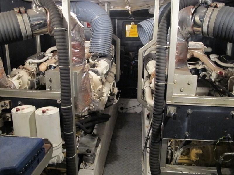 Princess 66 Engine Room