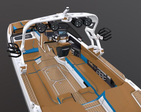 2021 Nautique boat for sale, model of the boat is Super Air Nautique G25 & Image # 3 of 6