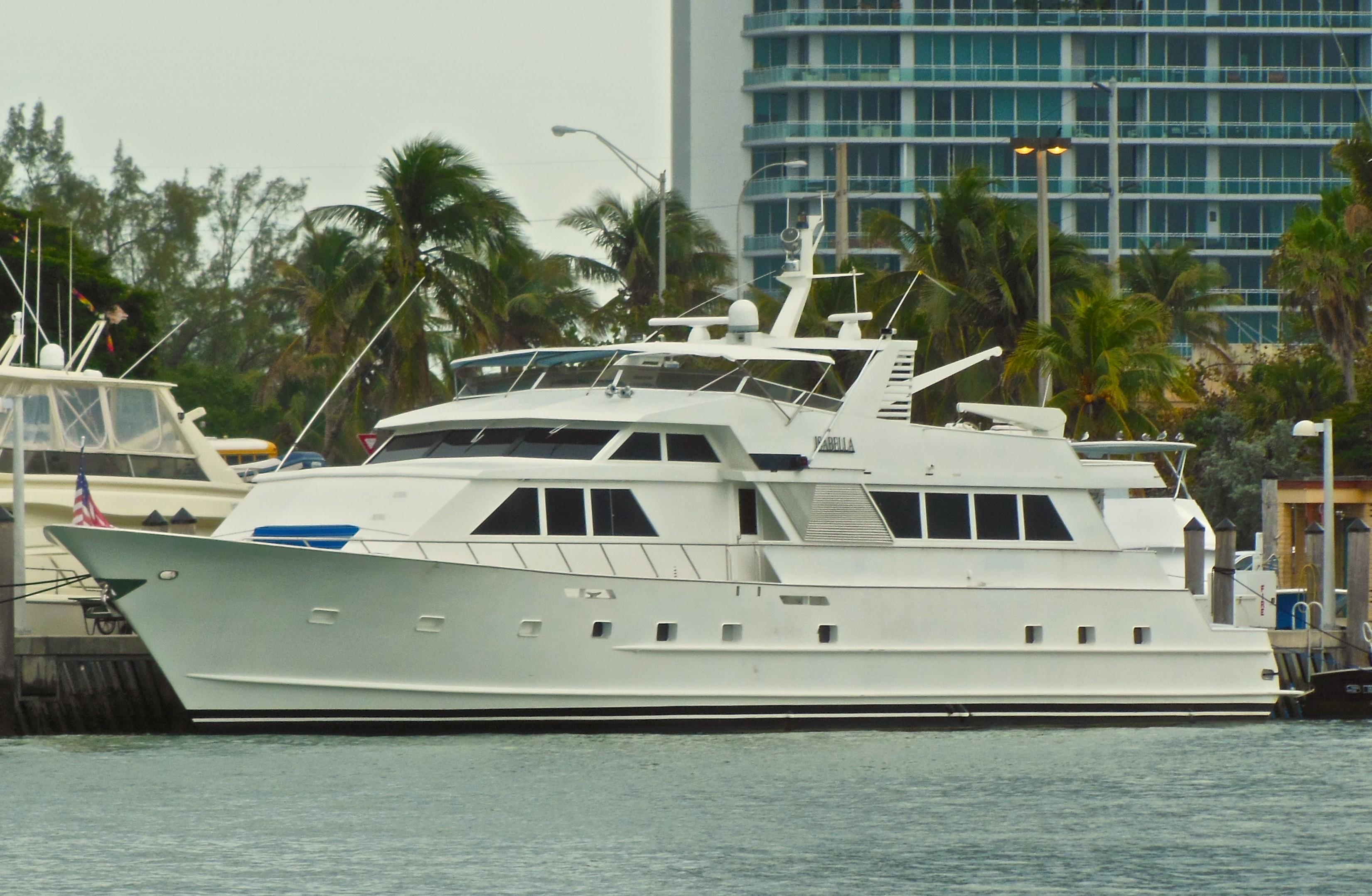 Broward Cockpit Motor Yacht