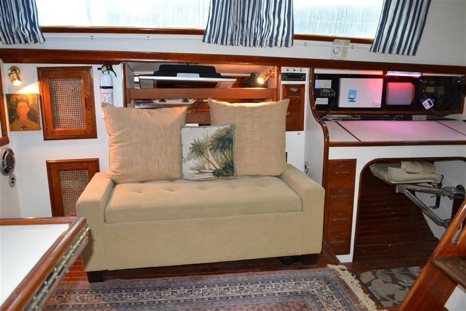 Enjoyable 1986 58 Tribute David Walters Yachts Ibusinesslaw Wood Chair Design Ideas Ibusinesslaworg