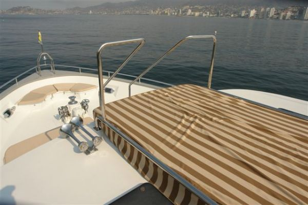 Foredeck view