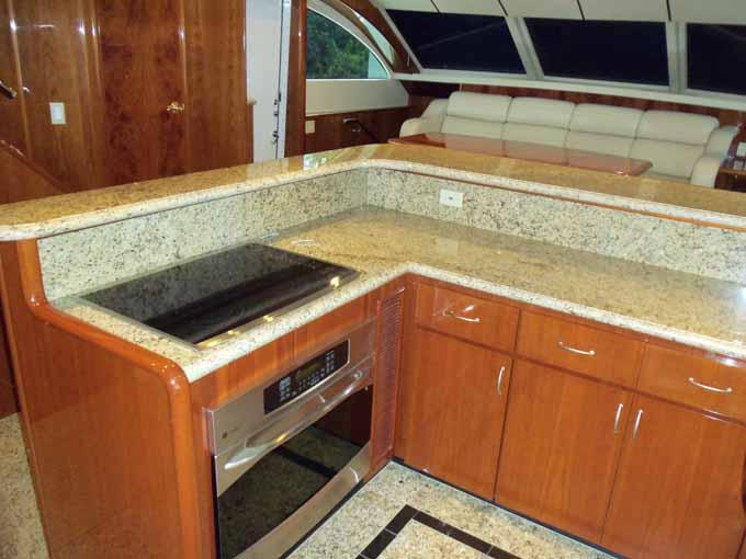 Galley Looking to Port
