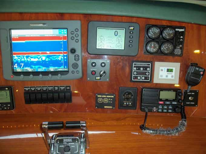 Helm Detail Starboard
