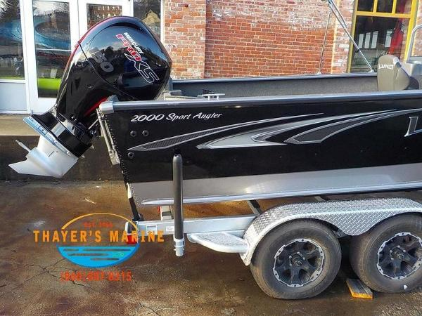 2019 Lund boat for sale, model of the boat is 2000 Sport Angler & Image # 12 of 36